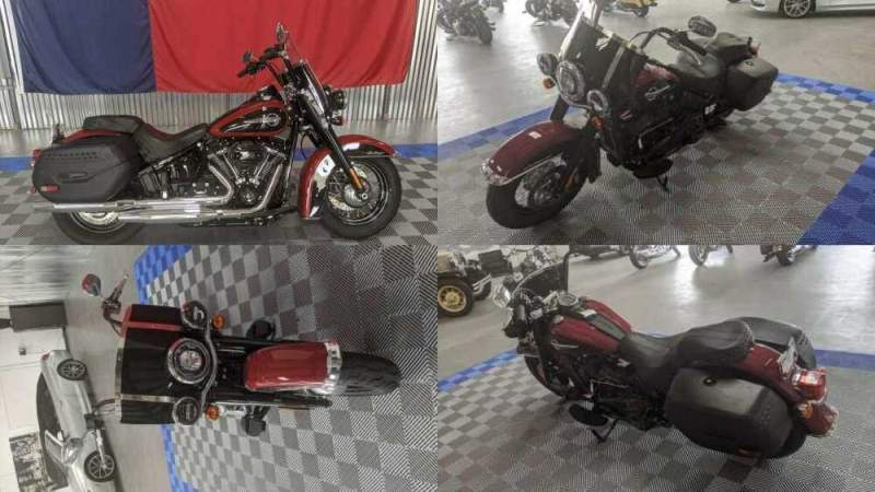 2020 Harley-Davidson Softail Heritage Classic Black for sale craigslist