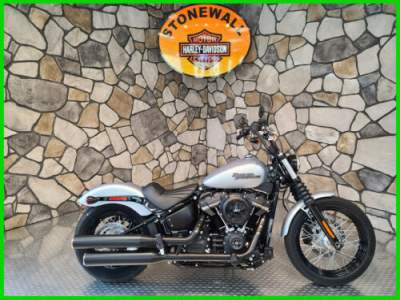 2020 Harley-Davidson Softail Street Bob Barracuda Silver Denim for sale