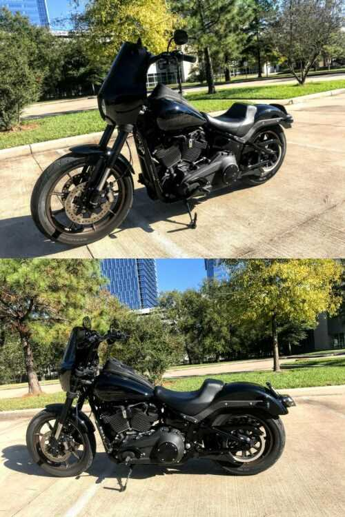 2020 Harley-Davidson Softail Black for sale craigslist photo