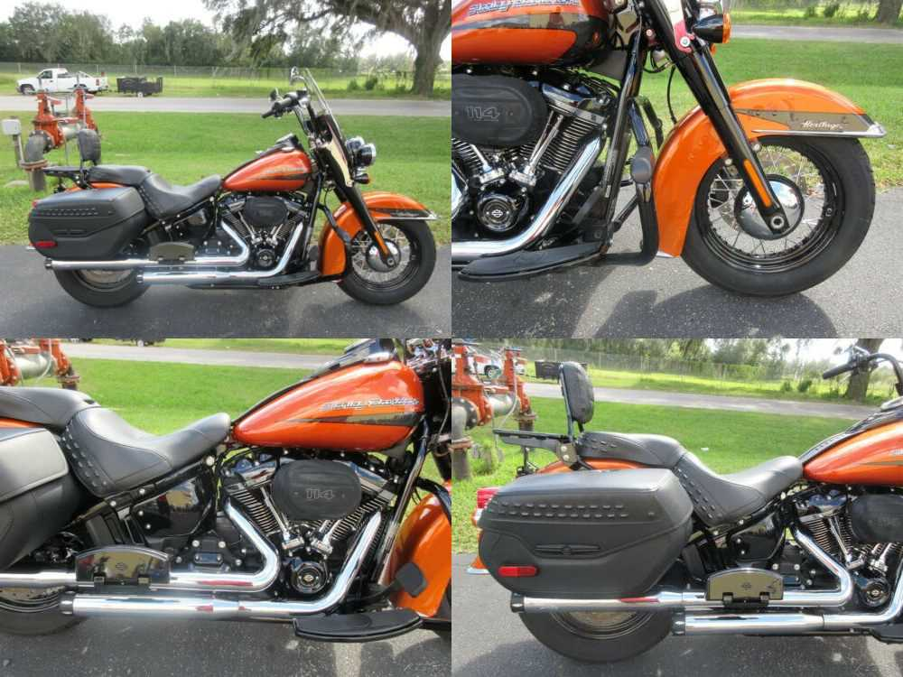 2020 Harley-Davidson Softail burnt orange Orange for sale
