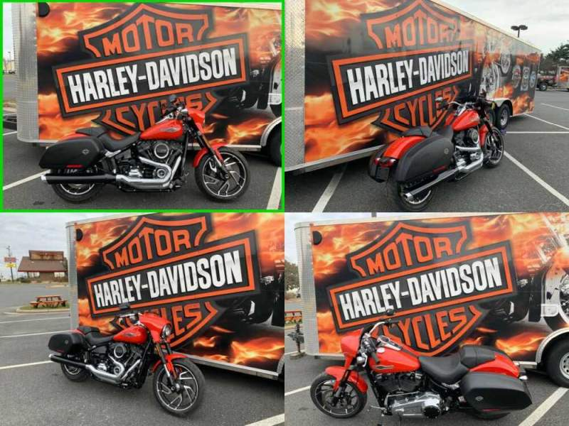 2020 Harley-Davidson Softail Sport Glide Performance Orange for sale craigslist photo