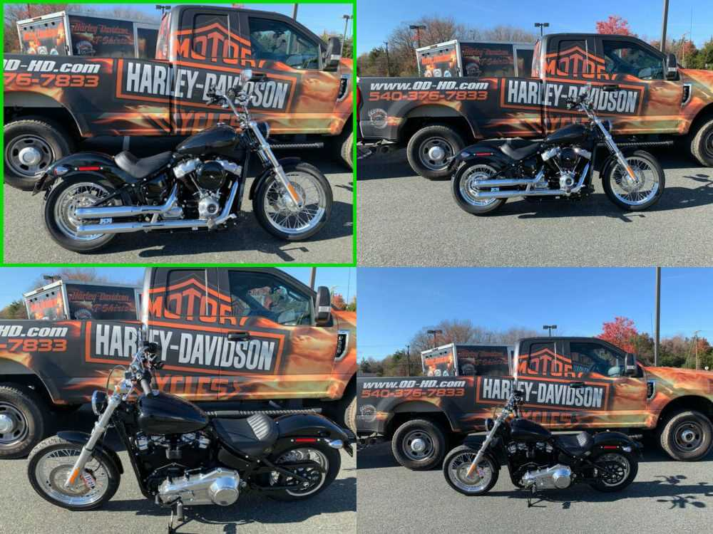 2020 Harley-Davidson Softail Standard Vivid Black for sale craigslist