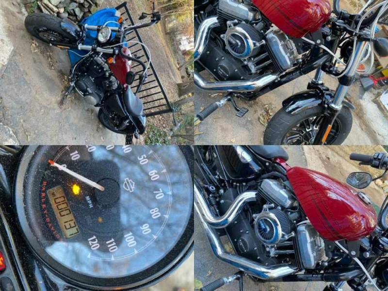 2020 Harley-Davidson Sportster Black for sale craigslist photo