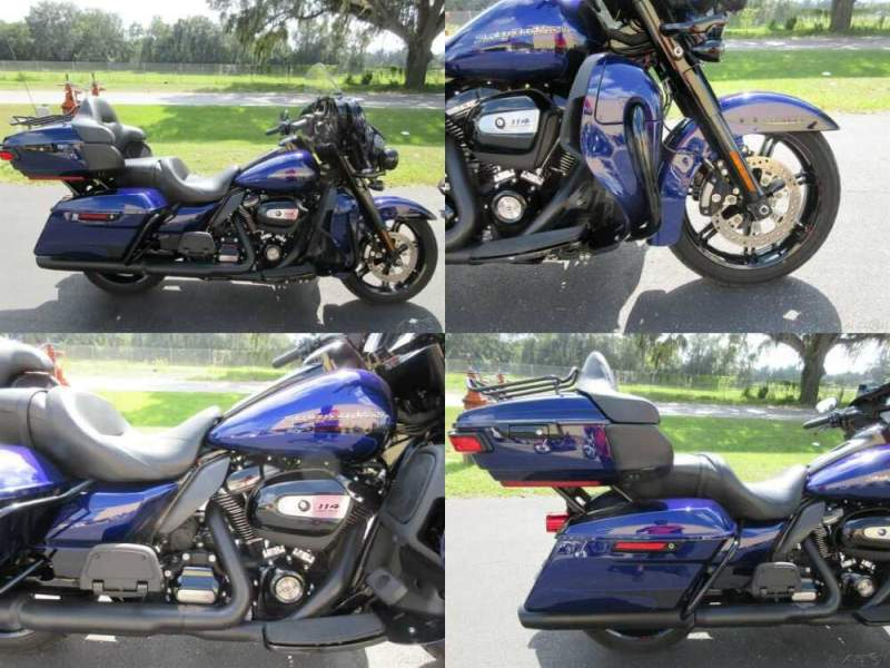 2020 Harley-Davidson Touring amazing paint Blue for sale craigslist photo