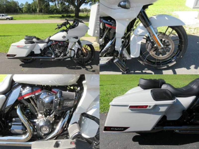 2020 Harley-Davidson Touring CVO™ Road Glide® Gray for sale craigslist photo