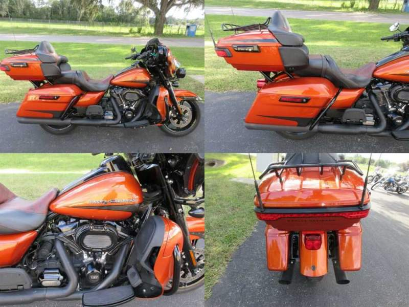 2020 Harley-Davidson Touring Electra Glide® Ultra Limited Orange for sale