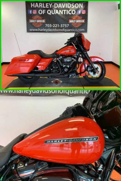 2020 Harley-Davidson Touring Street Glide Special Performance Orange for sale craigslist