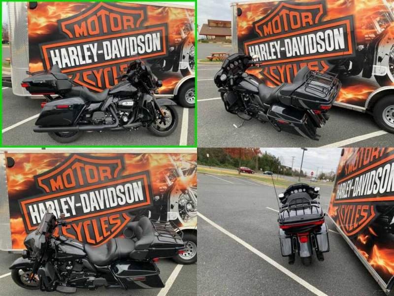 2020 Harley-Davidson Touring Ultra Limited vivid black w/ black out package for sale craigslist
