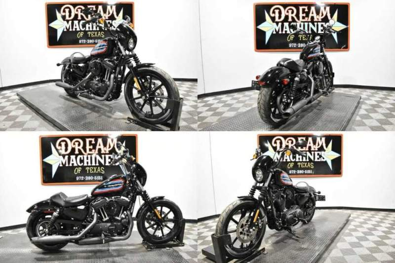 2020 Harley-Davidson XL1200NS - Sportster Iron 1200 Black for sale craigslist