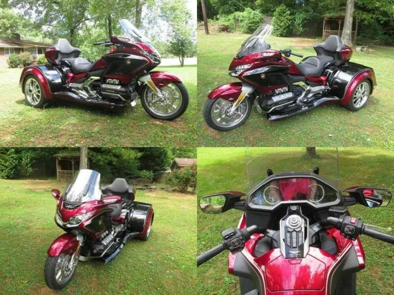 2020 Honda Gold Wing Candy Red for sale craigslist