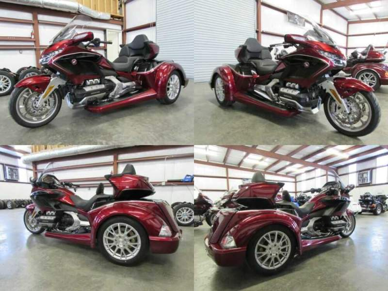 2020 Honda Gold Wing RED AND BLACK for sale