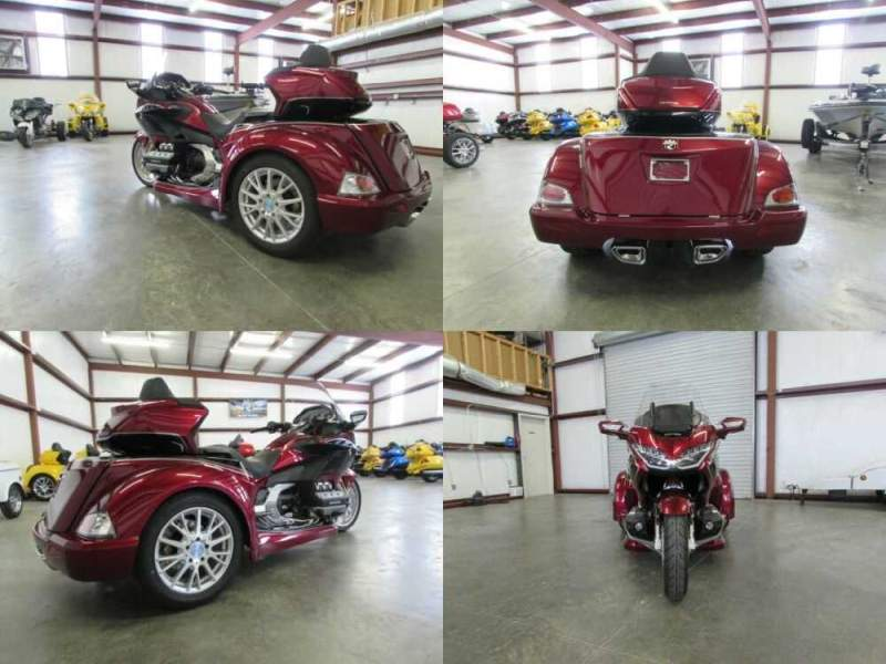 2020 Honda Gold Wing RED AND BLACK for sale craigslist