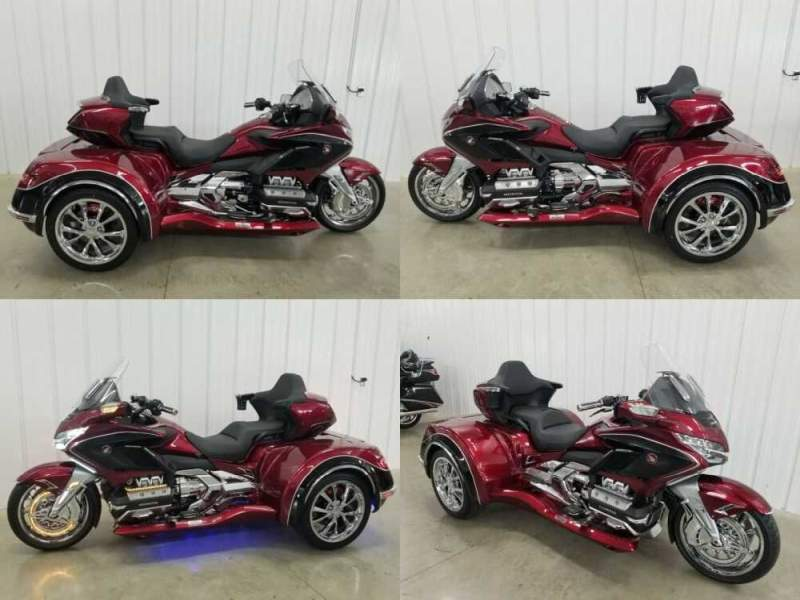 2020 Honda Gold Wing red/ black for sale craigslist photo