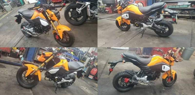 2020 Honda Grom Orange for sale craigslist