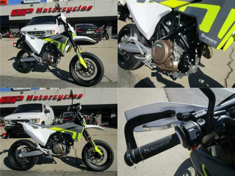 2020 Husqvarna 701 Supermoto Gray for sale craigslist photo