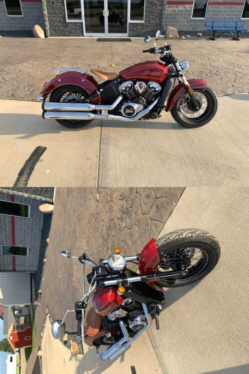 2020 Indian Scout® 100th Anniversary Gold for sale craigslist photo