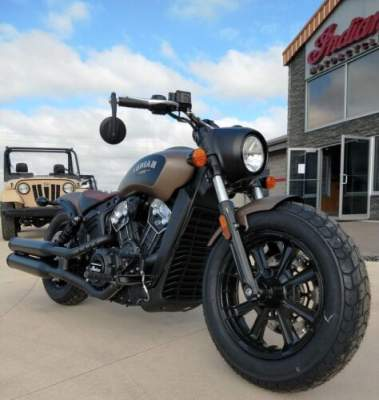 2020 Indian Scout® Bobber ABS Bronze Smoke for sale craigslist photo