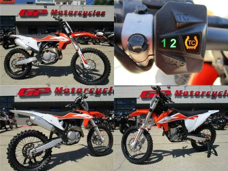 2020 KTM 450 SX-F Demo Orange for sale craigslist photo