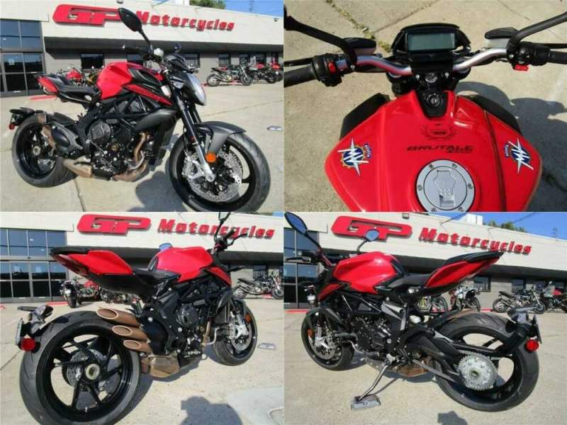 2020 MV Agusta Brutale 800 Rosso ROSSO for sale craigslist photo