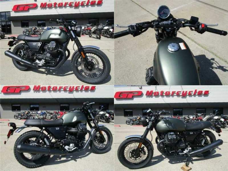 2020 Moto Guzzi V7 III Rough Green for sale craigslist