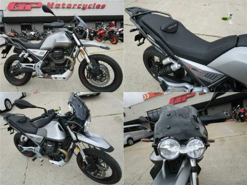 2020 Moto Guzzi V85 TT Demo Gray for sale craigslist photo