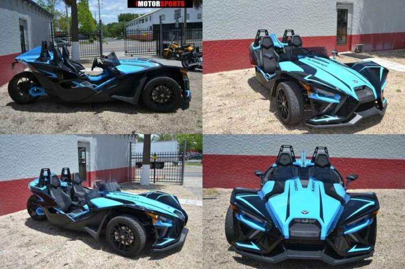 2020 Polaris Slingshot Slingshot R Autodrive Blue for sale craigslist