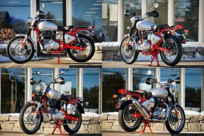 2020 Royal Enfield Bullet Trials 500 Works Replica Red Red for sale craigslist