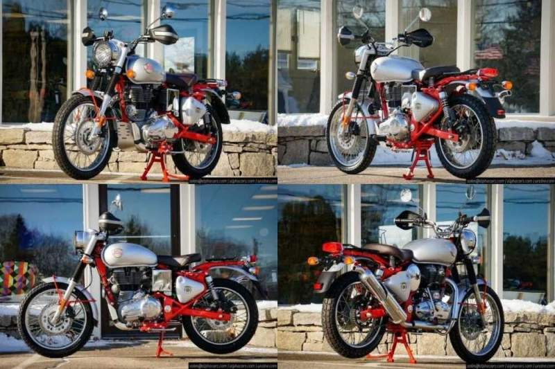 2020 Royal Enfield Bullet Trials 500 Works Replica Red Red for sale