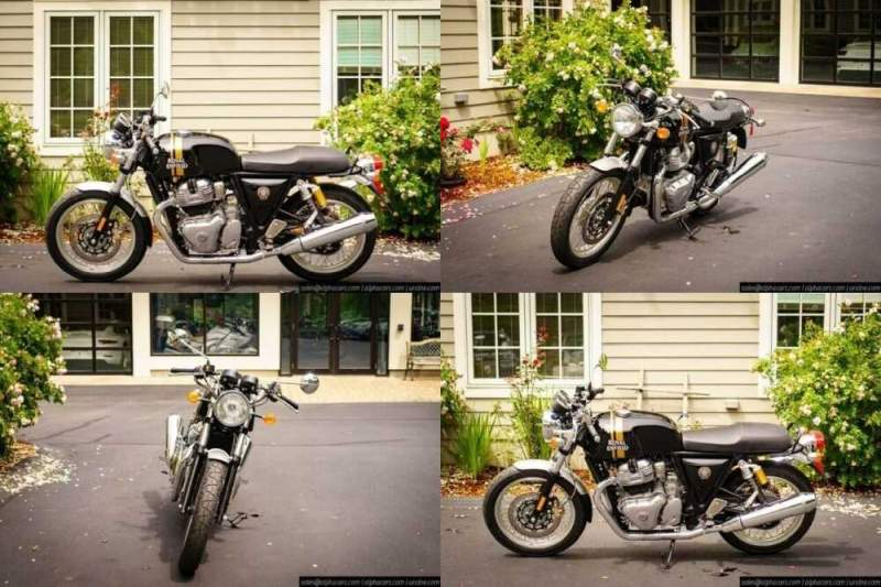 2020 Royal Enfield Continental GT 650 Black Magic Black for sale craigslist photo
