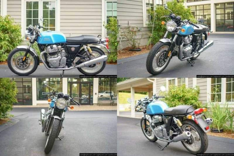 2020 Royal Enfield Continental GT 650 Ventura Blue Blue for sale