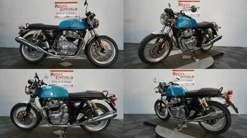 2020 Royal Enfield GT 650 RETRO CAFE RACER Blue for sale craigslist