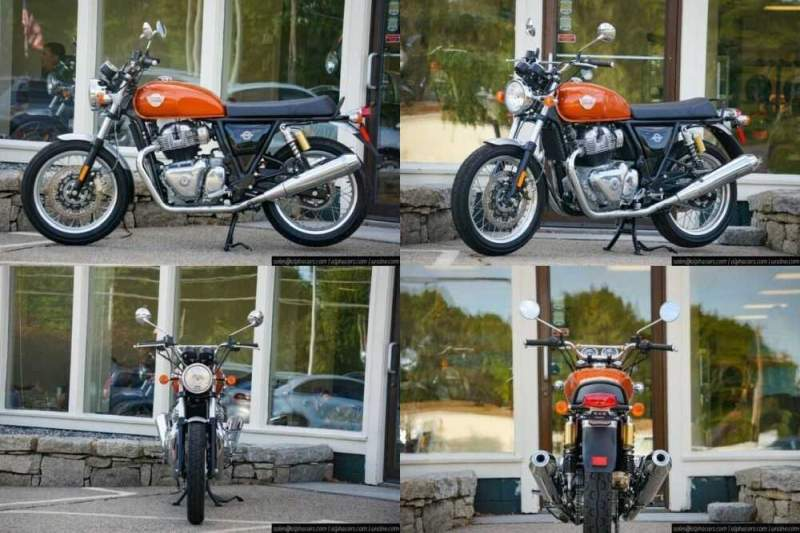 2020 Royal Enfield Interceptor INT650 Orange Crush Orange for sale craigslist