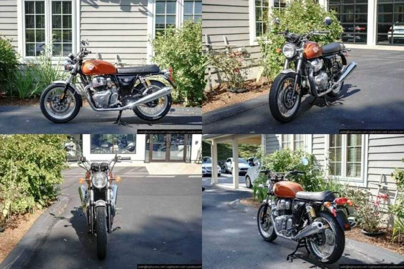 2020 Royal Enfield Interceptor INT650 Orange Crush Orange for sale