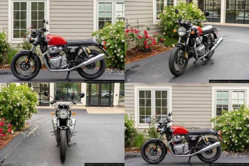 2020 Royal Enfield Interceptor INT650 Ravishing Red Red for sale