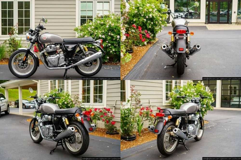 2020 Royal Enfield Interceptor INT650 Silver Spectre Silver for sale craigslist