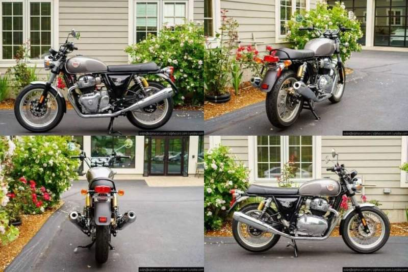 2020 Royal Enfield Interceptor INT650 Silver Spectre Silver for sale craigslist photo