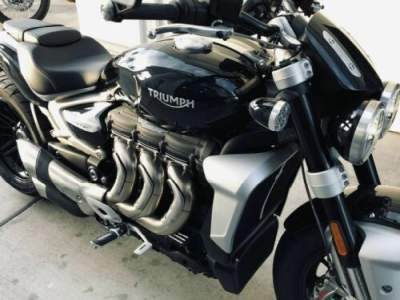 2020 Triumph Rocket 3 R Phantom Black Black for sale craigslist photo
