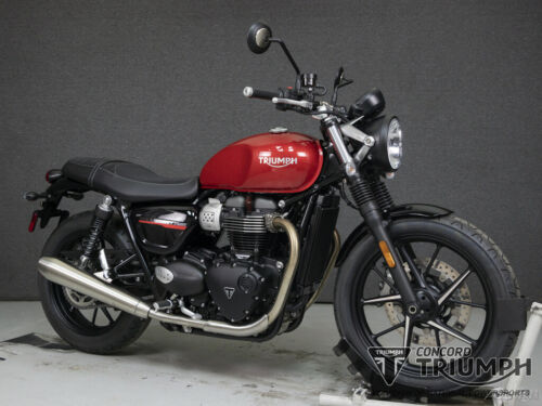 2020 Triumph Street Twin KOROSI RED for sale craigslist photo