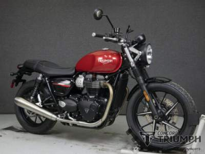 2020 Triumph Street Twin KOROSI RED for sale craigslist