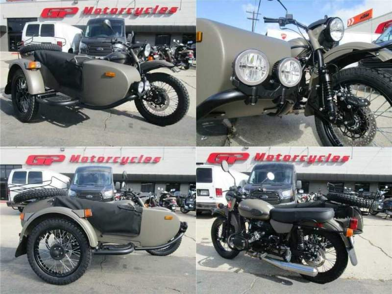 2020 Ural Gear Up 2WD Green for sale