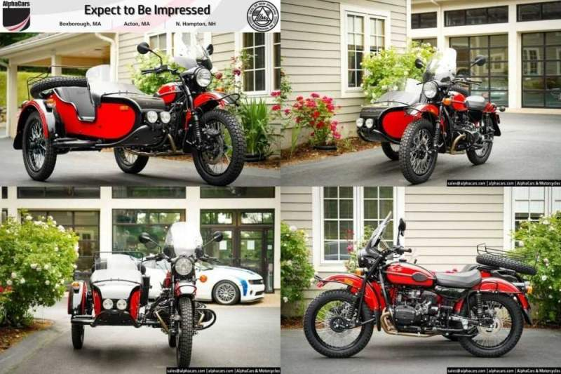 2020 Ural Gear Up Red/Black Black for sale