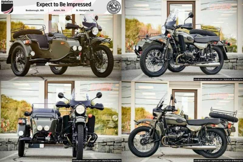 2020 Ural Gear Up Olive Gloss Custom Olive Gloss for sale craigslist photo
