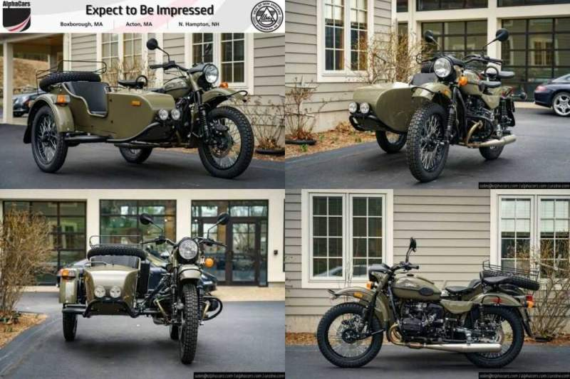 2020 Ural Gear Up Olive Gloss Olive Gloss for sale