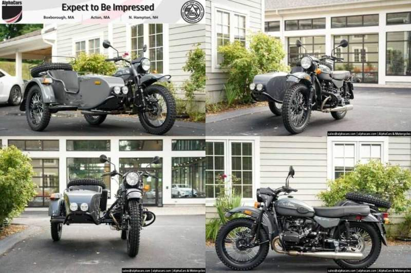 2020 Ural Gear Up Steel Metallic Steel Metallic for sale craigslist photo