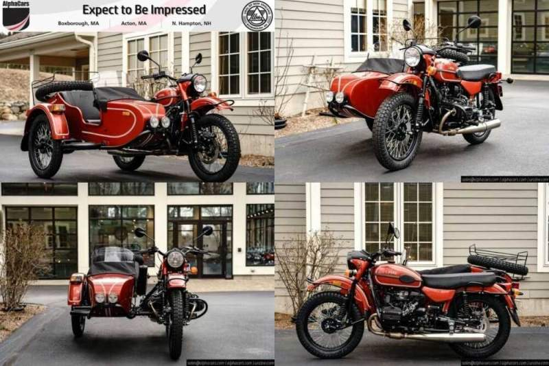 2020 Ural Gear Up Terracotta Custom Terracotta for sale