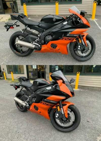 2020 Yamaha YZF-R Orange for sale craigslist photo