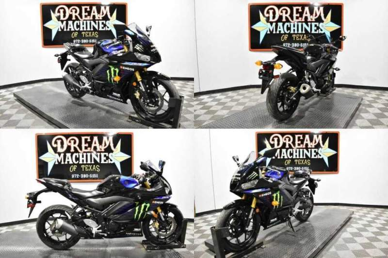 2020 Yamaha YZF-R3 Monster Energy Yamaha MotoGP Edition for sale