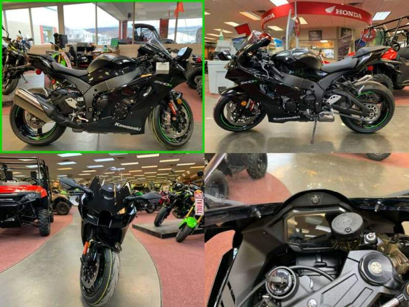 2021 Kawasaki Ninja ABS Metallic Spark Black / Metallic Matte Carbon Gray for sale