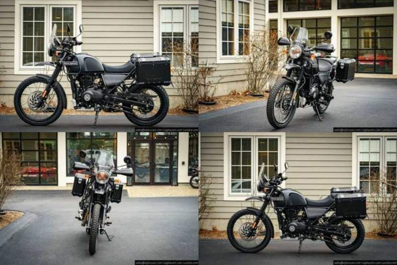 2021 Royal Enfield Himalayan Adventure Package Granite for sale