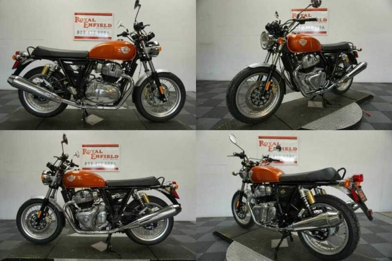 2021 Royal Enfield INT 650 RETRO FUN TO RIDE!!! Orange for sale